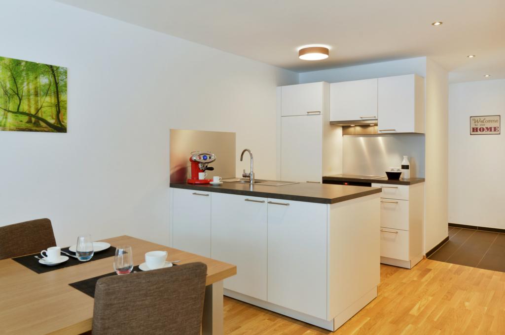wohnen-dornbirn.at | Küche im Komfort Apartement
